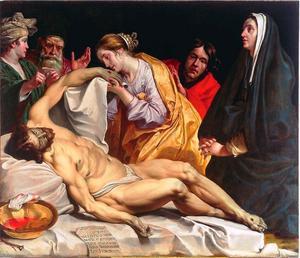De bewening van Christus (Johannes 19; Lucas 23; Marcus 15; Mattheüs 27)
