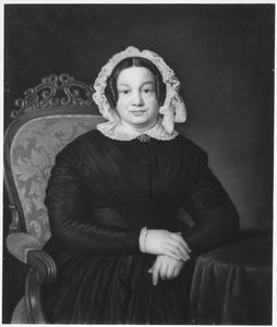 Portret van Maria Jacoba Lulofs (1789-1870), echtgenote van Ds. Benjamin Nieuwold