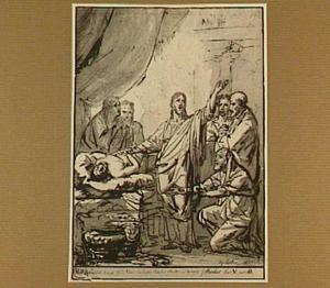 De Opwekking van Jaïrus' dochter (Mattheüs 9:18-25)