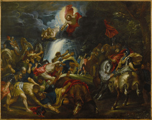 De bekering van de heilige Paulus (Handelingen 9:3-6)