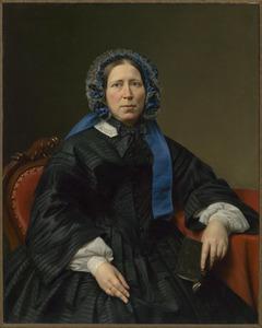 Portret van Hendrika Hillegonda Brink (1814-1865)