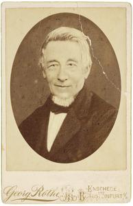 Portret van dhr. Johannes Christoffel Gerrit van Benthem (1808-1888)