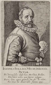 Portret van Hans Bol (1534-1593)