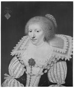 Portret van een vrouw, mogelijk uit de familie Brederode