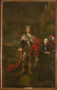 Dubbelportret van Godard van Reede (1644-1703) en John Palmer