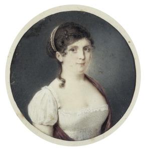 Portret van een vrouw, waarschijnlijk Clementia Cornelia Elisa Gevers (1798-1875)