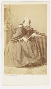 Portret van Susanna Sophia Maria Hodshon (1816-1892)