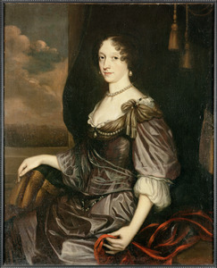 Portret van Johanna Hamel, echtgenote van François van Bredehoff
