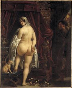 Koning Kandaules toont Gyges zijn vrouw Tydo (Herodotus)