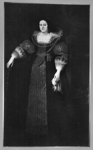 Portret van Anna Grimaldi de Morosena (?-?), echtgenote van Ferdinand de Spoelberg