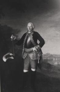 Portret van Berend Lewe van Aduard (1710-1791)