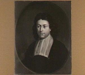 Portret van Petrus Burman (1668-1741), hoogleraar Historie, Welsprekendheid en Staatskunde (1696-1715)