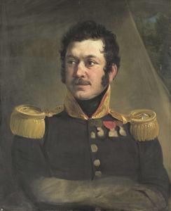 Portret van Luitenant-Generaal Frederik Knotzer (1782-1853)