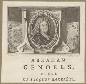 Portret van Abraham Genoels (1640-1753)
