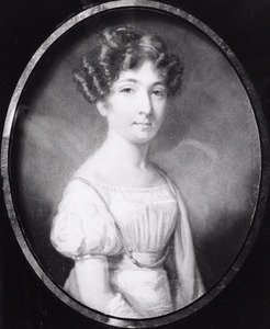 Portret van Hester van Wickevoort Crommelin (1802-1871)