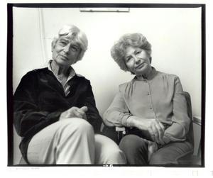 Portret van Eva Besnyö en Ata Kando