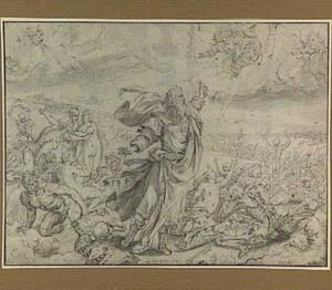 Ezechiëls visioen van het dal van de dorre doodsbeenderen (Ezechiël 37:1-14)