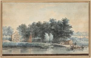 De veerdam en haven van Goidschalxoord
