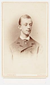 Portret van Willem Hendrik van Ittersum (1865-1930)