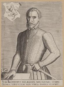 Portret van Hendrik van Brederode (1531-1568)