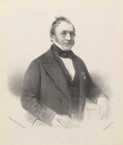 Portret van Hendrik Johan Caan (1781-1864)