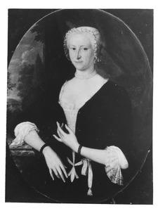 Portret van een vrouw, mogelijk Jacoba Geertruida van Moerkerken (1705-1788)