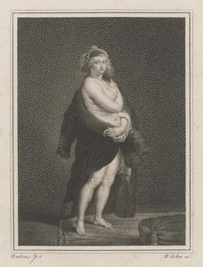 Helène Fourment met een bontmantel