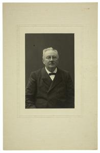 Portret van Jan Egens van Iterson (1842-1901)
