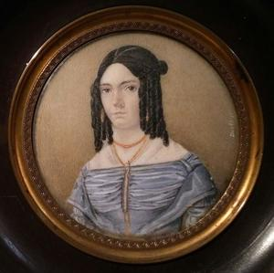 Portret van Johanna Maria van Ellekom (1820-1900)