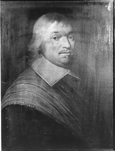 Portret van Jan van Dorp, kapitein in het Noordhollands regiment