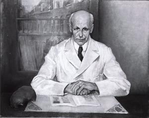 Portret van Arnoldus Johannes Petrus van den Broek (1877-1961)