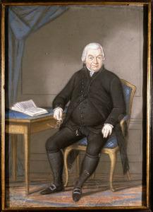 Portret van Johannes Quirinus de Ruuk (1726- )