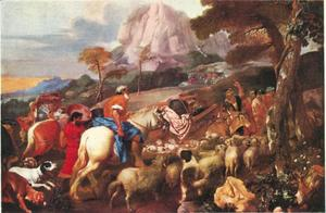 De engel verschijnt aan de herders