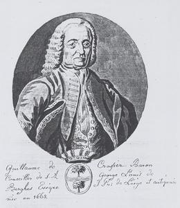 Portret van Guillaume Pascal de Crassier (1662-1751)