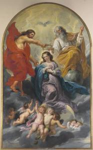 De kroning van de Heilige Maagd