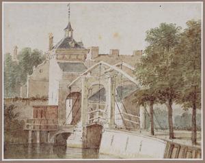 De Spuipoort en de Spuibrug te Dordrecht
