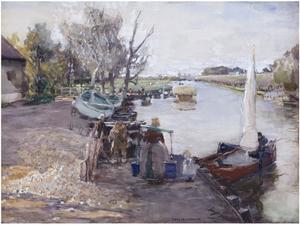 Kanaal in Holland