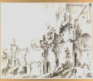 De Walburgkerk te Arnhem, gezien vanuit het oosten
