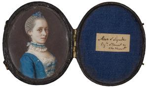 Portret van een vrouw, mogelijk Frederika Louise van der Does van Noordwijk (1730-1811)