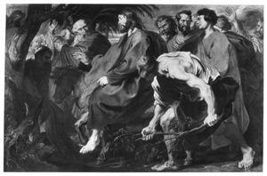 Christus intocht in Jeruzalem
