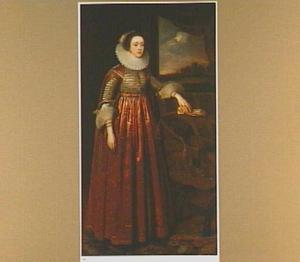 Portret van Susan Villiers, 1st Countess of Denbigh