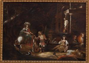 De ontmoeting tussen Granida en Daifilo (P.C. Hooft, Granida)
