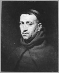 Portret van een onbekende Franciscaanse monnik