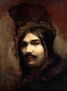 Portret van een heiduk met muts