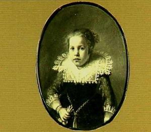 Portret van Maria van Esch (1625-?)