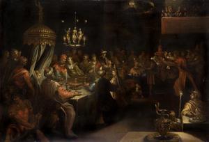 Belsassars feestmaal (Daniël 5:5-7)