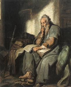 De apostel Paulus in de gevangenis