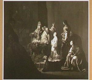 Het offeren van Jefta's dochter (Richteren 10:39)