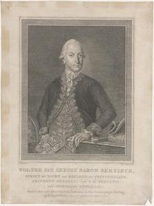 Portret van Wolter Jan Gerrit Bentinck (1745-1781)