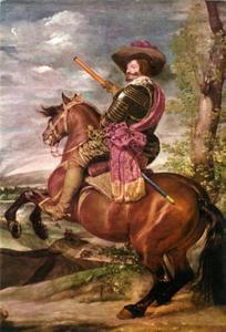 Ruiterportret van don Gasparo de Guzmàn y Pimentel, graaf-hertog van Olivares, hertog van San Lucar de Barrameda (1587-1645)